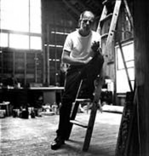 Pollock in the studio