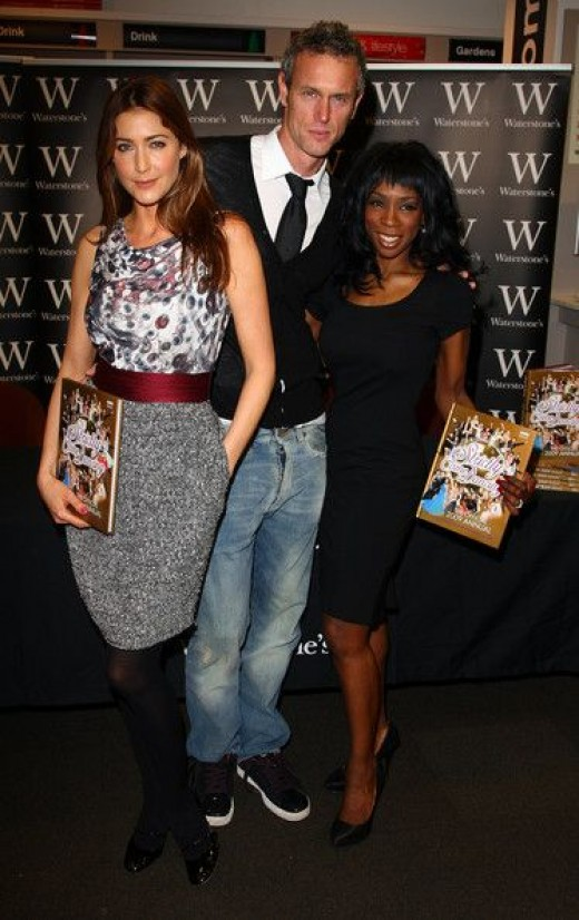 lisa snowdon and george clooney. lisa snowden picture pics and