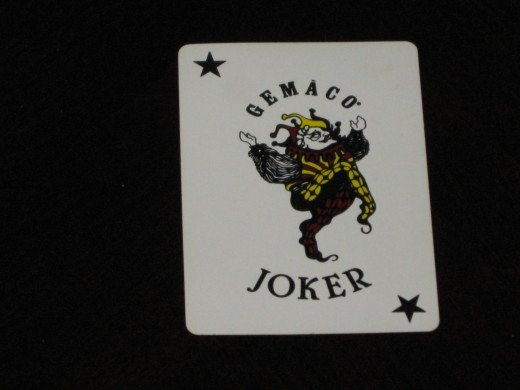 """The Joker - an apt symbol for the """"funny money"""" that resulted from the creation of too much playing card money in New France."""