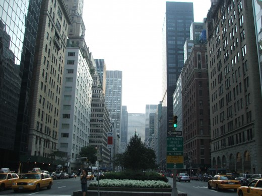 A view down Park Avenue from the Upper East Side.  (Photo by Martyna Adamczyk)