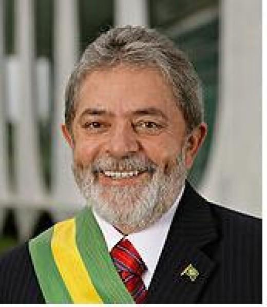 Luiz Incio Lula da Silva, Elected President of Brazil, now in third term.