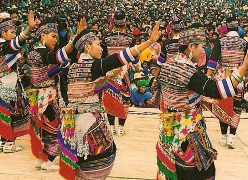 Dance and song honor the ancestors. China