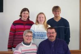 The Howling Five in 2002 - Ken, Rita, Kelly, Erin, Dana