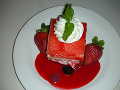 """Trifle as served in an Upscale Las Vegas Restaurant. Trifle is being """"Discovered""""!"""