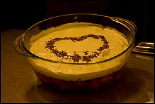 Trifle can Convey a Message in a very pleasant, yummy way!