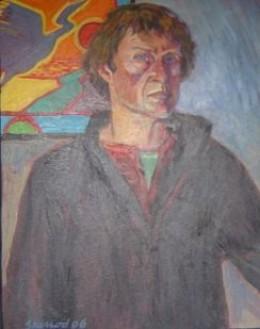 Dave Sherrod's self-portrait