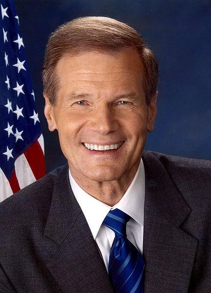 Senator Bill Nelson of Florida {Public Domain Photo courtesy of WikiPedia.org   http://en.wikipedia.org/wiki/File:Bill_Nelson.jpg )
