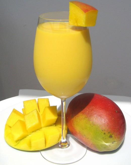 Fresh Mango Lassi