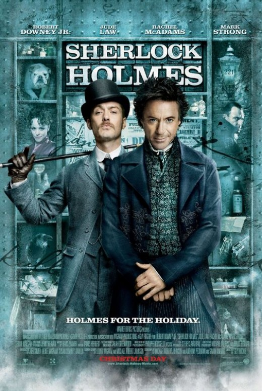 Sherlock Holmes movie poster, courtesy of impawards.com