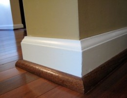 Make A Wood Undercut On The Baseboards