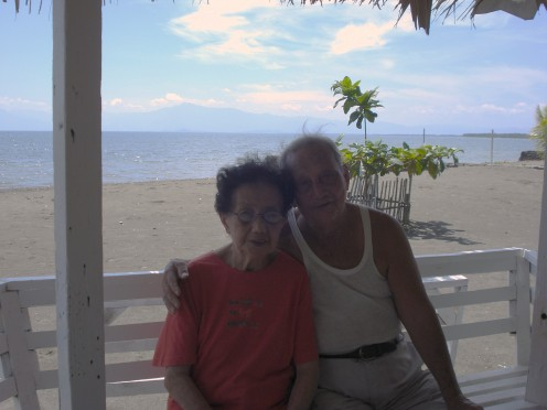 Pa & Ma, Buenavista Beach, Phil.