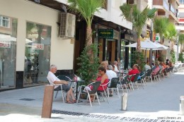 ....fortunately here in Andalucia there are plenty of outside terraces to sit upon, where the draconian legislation will not be enforcable, so bars will simply empty their clients outside and continue as normal.