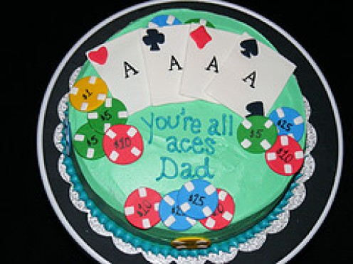 A touching Father's Day Cake