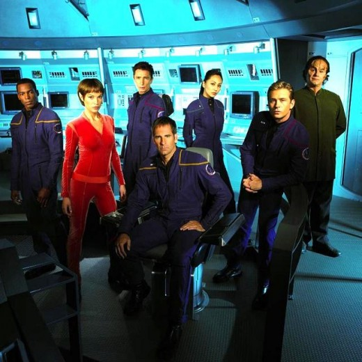 The Cast of Star Trek: Enterprise.
