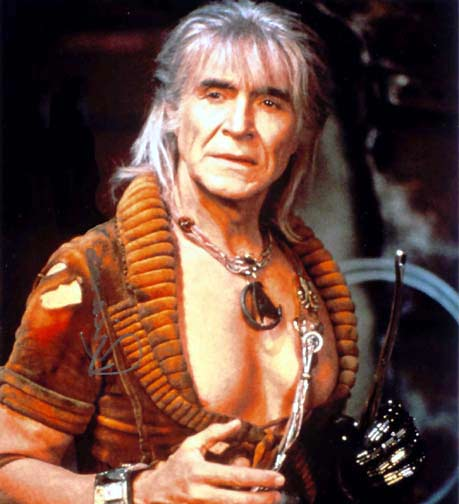 Ricardo Montalban as Khan, a product of 20th century genetic engineering