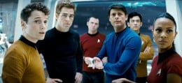 The cast of the Star Trek movie