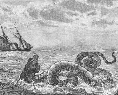 English Channel sea monster