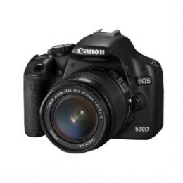 The Canon EOS 500D Digital SLR camera is one of the best currently available DSLR cameras on the market!