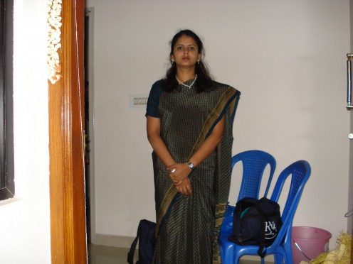 Transparent Saree Photos of Mallu Housewives Image 19