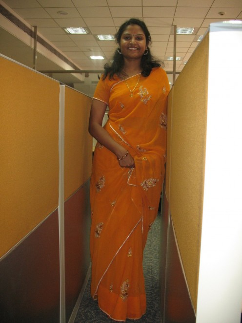Transparent Saree Photos of Mallu Housewives Image 18