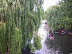 Cambridge UK, Punting on the thames