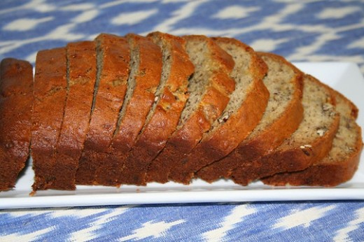 BANANA-NUT CORN BREAD:  Photo courtesy of http://www.tasteofhome.com