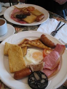 Traditional Ulster Fry-Proper Irish Breakfast