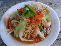 Spicy Thai Ramen Noodle Salad Recipe