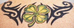 Four-Leaf Clover Tattoo