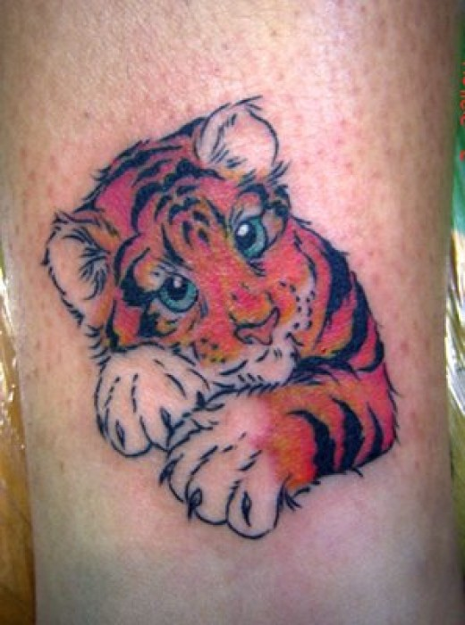 Baby Tiger Tattoos