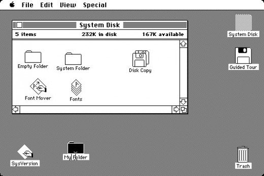 Macintosh User Interface