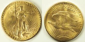 1933 double eagle gold coin