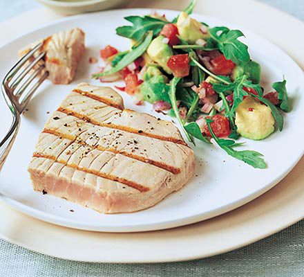Stick to healthy, low fat meals.