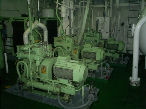 Air Compressors Driven by Electric Motor