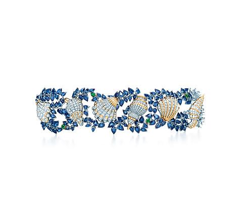 Platinum Gemstone Bracelet | Photo credit:  Tiffany & Co.