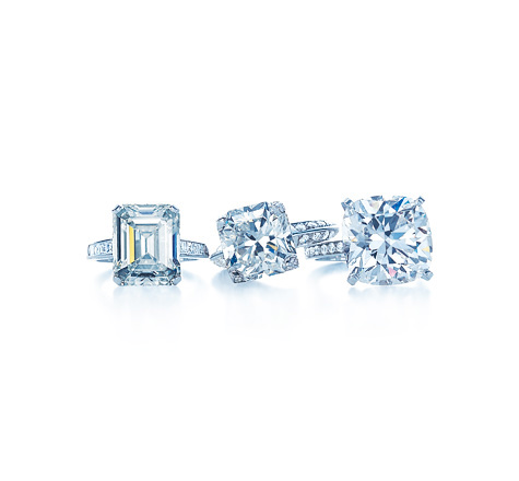 Tiffany Diamond Rings | Photo credit:  Tiffany & Co.