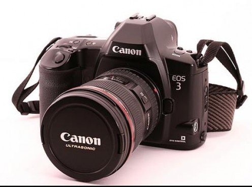 Canon EOS 3 Film Camera