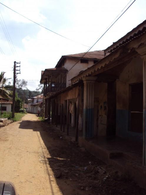 Streets of Pangani Town