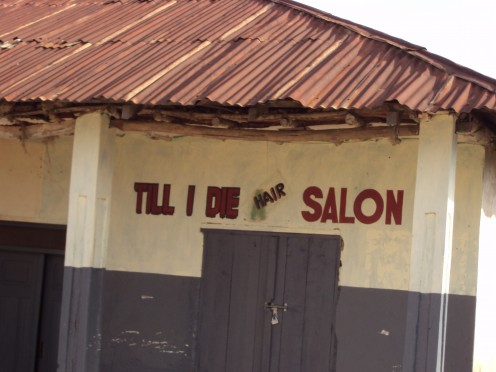 I love the name of this hair salon!