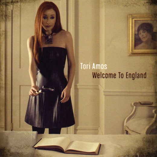 Tori Amos - Welcome to England - Promo CD cover
