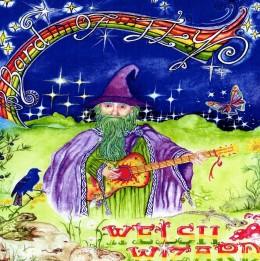 Steve Andrews- WelshWizard CD Inlay Booklet Art