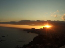 Sunset, Madeira