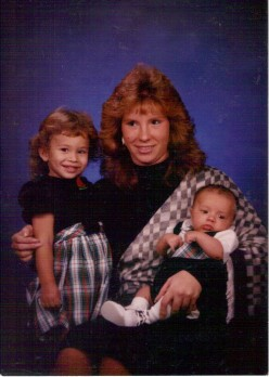 1988 with Alicia and Nick