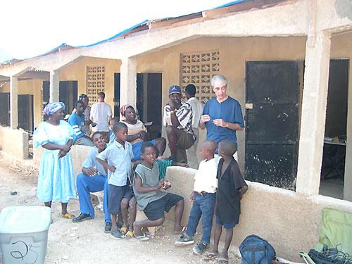 The school at Zone 27 (Bon Dye' La)