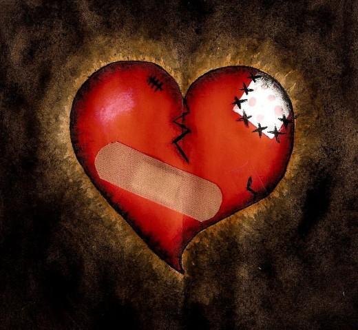 Bandage up your heart and move on!