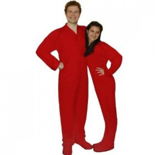 Couples Fleece Pajama Sets