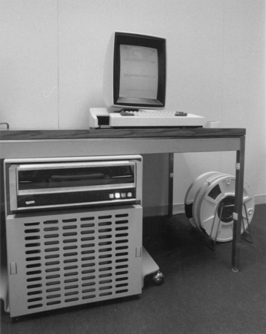 Xerox Alto with Processor and Tape Systems