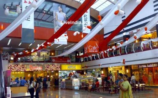 Pitampura shopping mall in Delhi