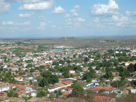 A typical city, Itaberaba, Bahia