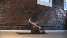 Hip Stretch - Make sure to keep the feet from rolling in or out, which helps the knees stay safe.